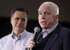McCain endorsing Romney