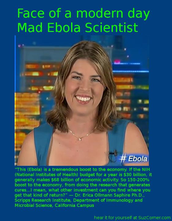 Mad Scientist, Dr. Erica Ollmann Saphire