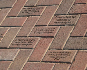 Engraved Memorial Bricks