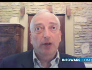 Lord Christopher Monckton, frequent guest on Alex Jones