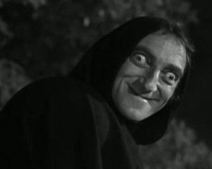 Marty Feldman, as a ghoul